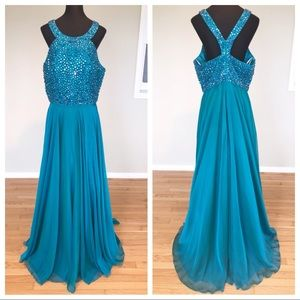 Sherri Hill Plus Size Prom Evening Gown/Dress 18